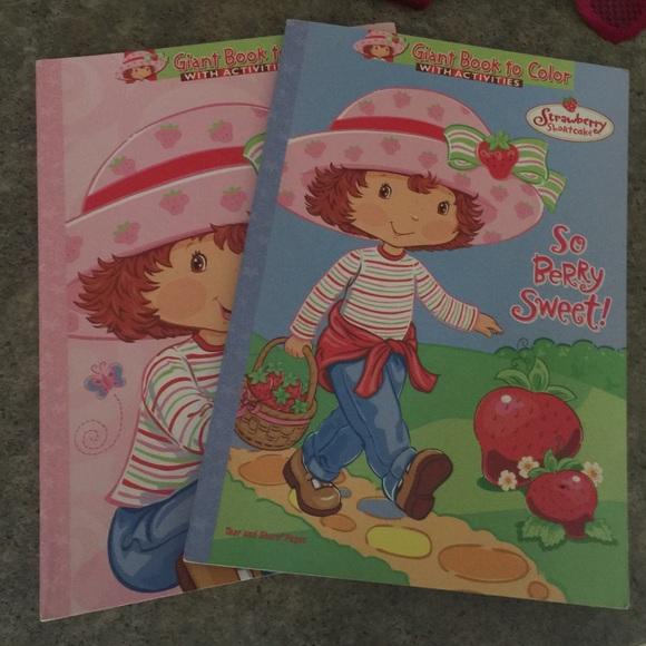 - Accessories Strawberry Shortcake Coloring Books Poshmark